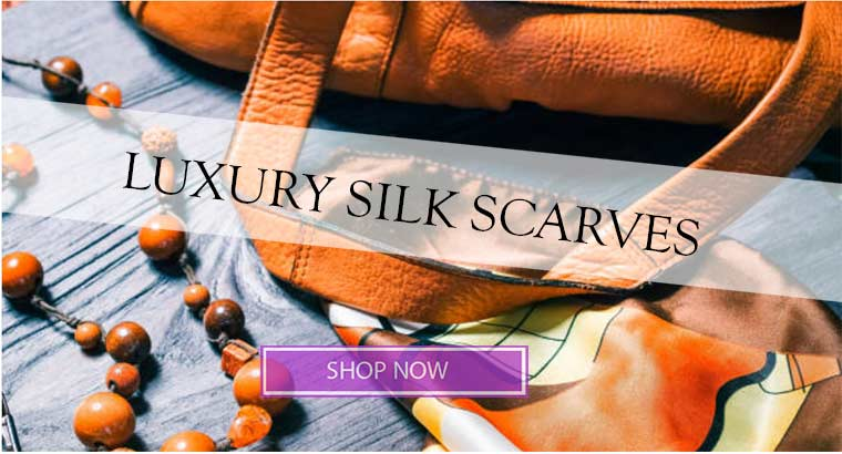 Luxury Silk Scarves