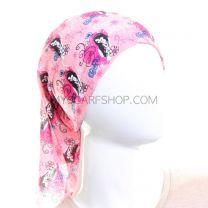 Pink Motif Multifunctional Bandana