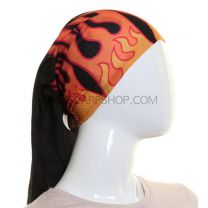 Red Flames Multifunctional Bandana