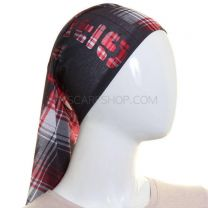 Black Tartan Multifunctional Bandana