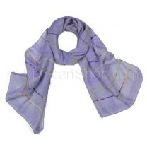 Blue Multicolour Stripes Neck Scarf