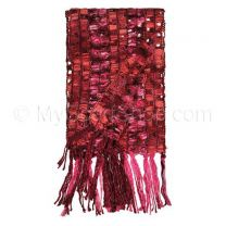 Loose Knit Yarn Scarf