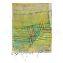 Pale Green Sheer Silk Shawl