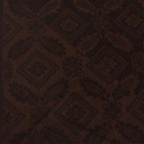 Brown Paisley Square Pashmina