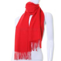 Cashmere Scarf Red