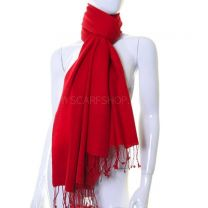 Red Luxurious Cashmere Pashmina