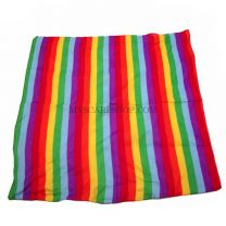 Rainbow Stripes Cotton Bandana (Neckerchief)