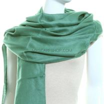 Mint Green Plain Pashmina
