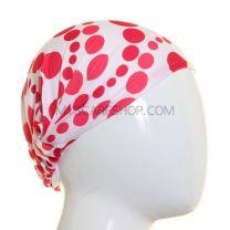 Red Polka Dot Headwrap