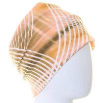 Beige Stripes Al Amira Tube Hijab Bonnet