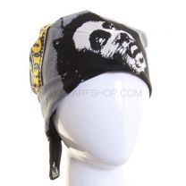 Grey Bob Marley Cotton Bandana