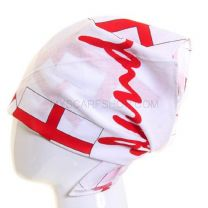 White England Flags Bandana