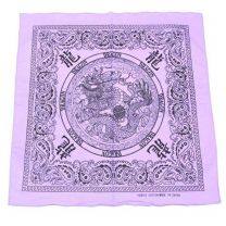 Lilac Chinese Dragon Bandana