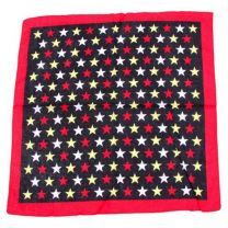 Multicoloured Stars Patterned Bandana