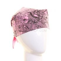 Pink Chinese Dragon Bandana