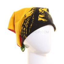 Striped Bob Marley Bandana