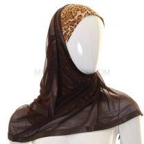 Leopard Print Al Amira Kuwaiti Hijab