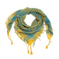 Blue & Mustard Arab Scarf (Shemagh)