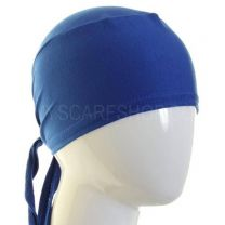 Royal Blue  Al Amira Tie Back Hijab Bonnet