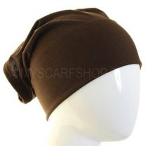 Dark Brown Al Amira Tube Hijab Bonnet