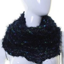 Navy Mix Magic Snood Scarf