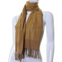 Desert Stripes Wool Mix Winter Scarf
