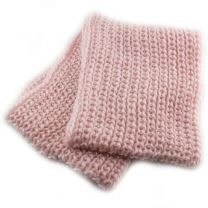 Pink Chunky Knitted Snood