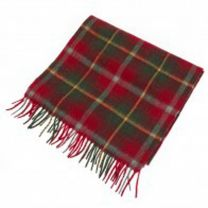 Cashmere Scarf in Maple Tartan