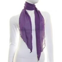 3 in 1 Chiffon Sash Scarf (Purple)