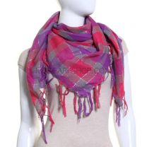 Check Lurex Scarf