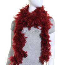 Burgundy Feather Boa