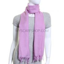 Lilac Wave design Wool Pashmina