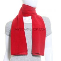 Red Polar Fleece Scarf