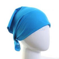 Turquoise Plain High Quality Cotton Bandana