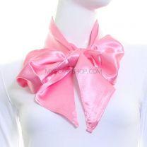 Pink Satin Sash Scarf