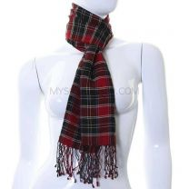 Red Tartan Neck Scarf
