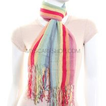 Rainbow Neck Scarf (Multicolour)