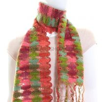 Multicolour Lightweight Winter Scarf