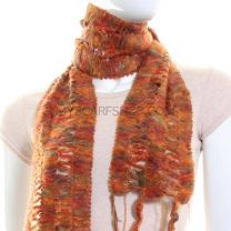 Multicolour Tight Knit Neck Scarf