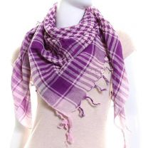 Purple Pink Arab Scarf