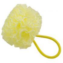 Yellow Ruffle Hairband Scrunchy